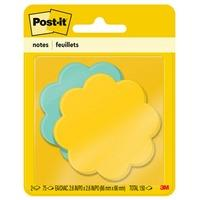post it super sticky notes in star die cut shape