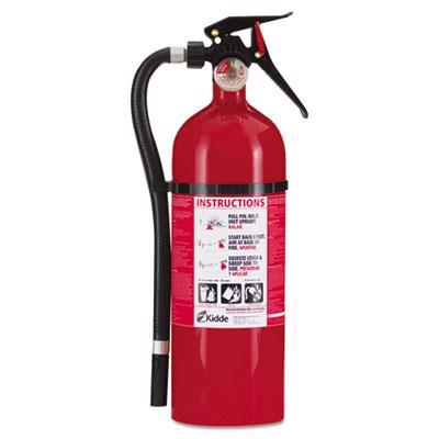 Service Lite Multi-Purpose Dry Chemical Fire Extinguisher, 5Lb, 3-A, 40-B:C