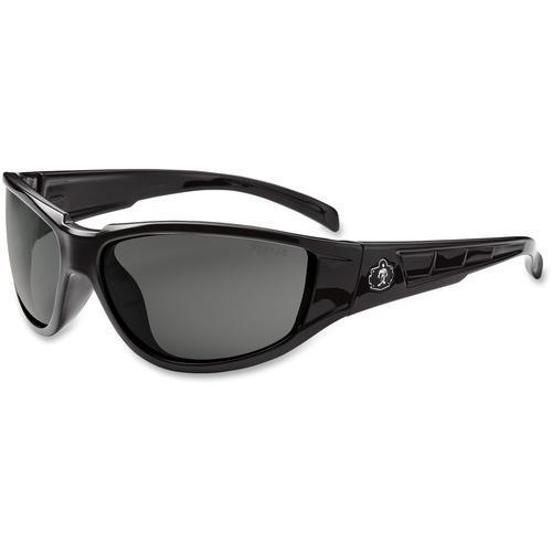 56aadd9ed83 Ergodyne Njord Smoke Lens Safety Glasses - Zerbee