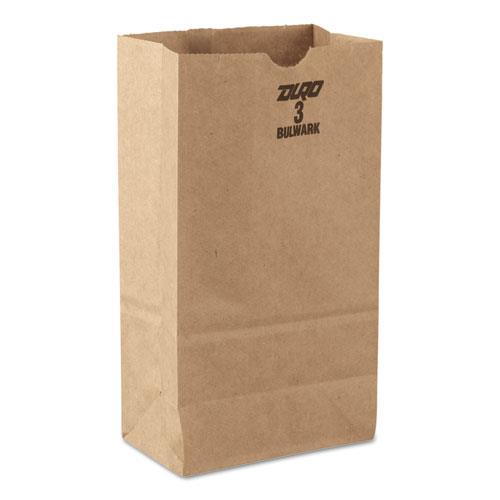 Grocery Paper Bags, Extra Heavy Duty, 50-lb Capacity, Brown BAGGX3500