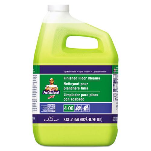 Finished Floor Cleaner Lemon Scent One Gallon Bottle