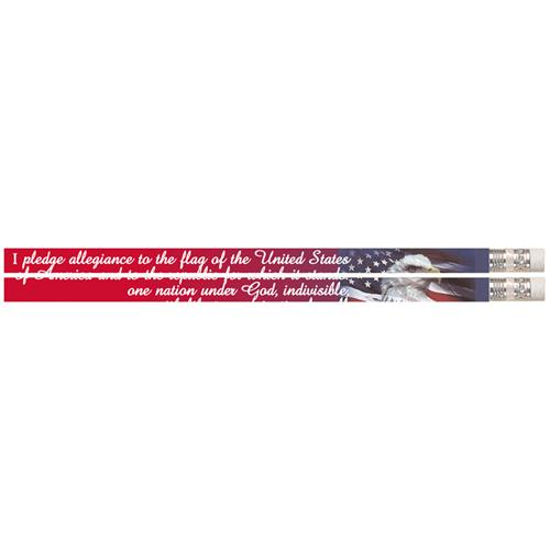 (12 Dz) Americas Pledge Pencil 12 Per Pack MUS2572DBN