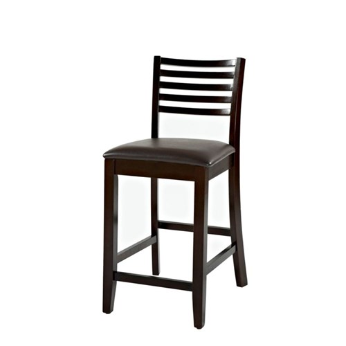 Miraculous Linon Home Triena Collection Stool Counter Espresso Dark Brown Frankydiablos Diy Chair Ideas Frankydiabloscom