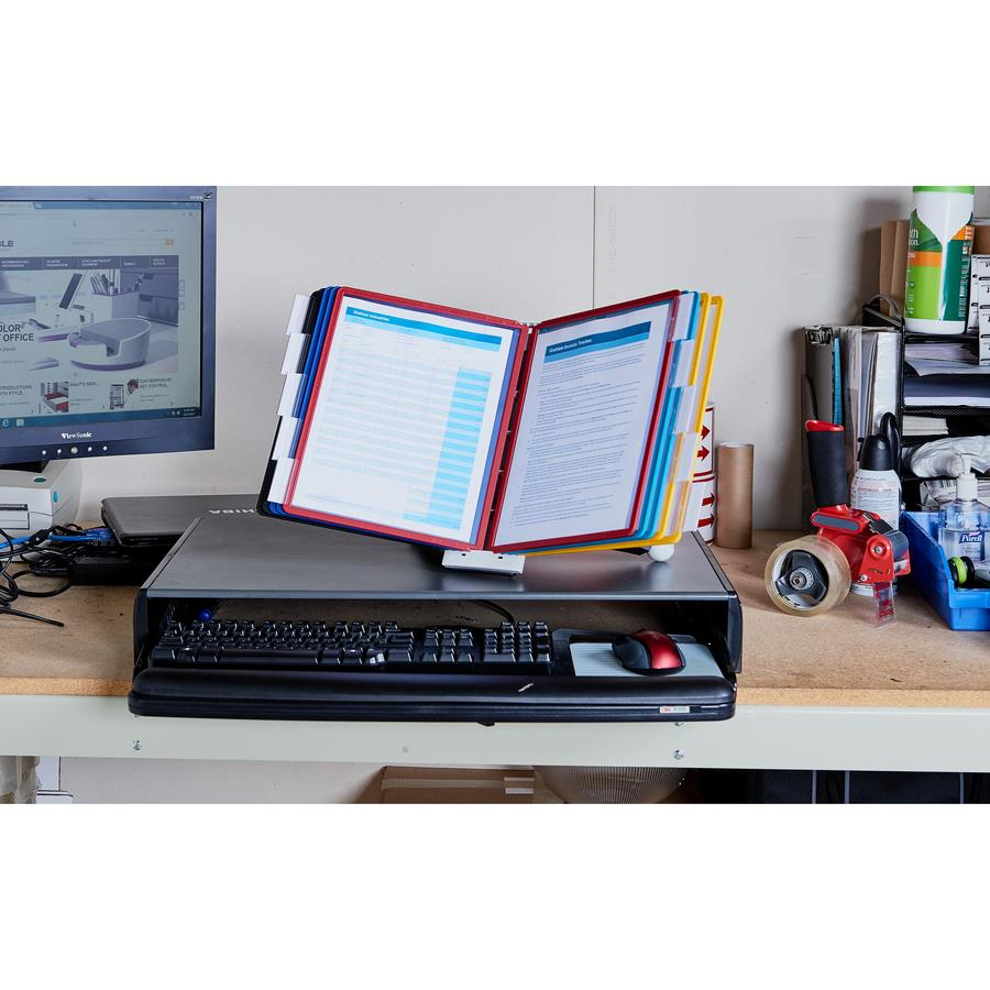 Durable Sherpa Desk Reference System Zerbee
