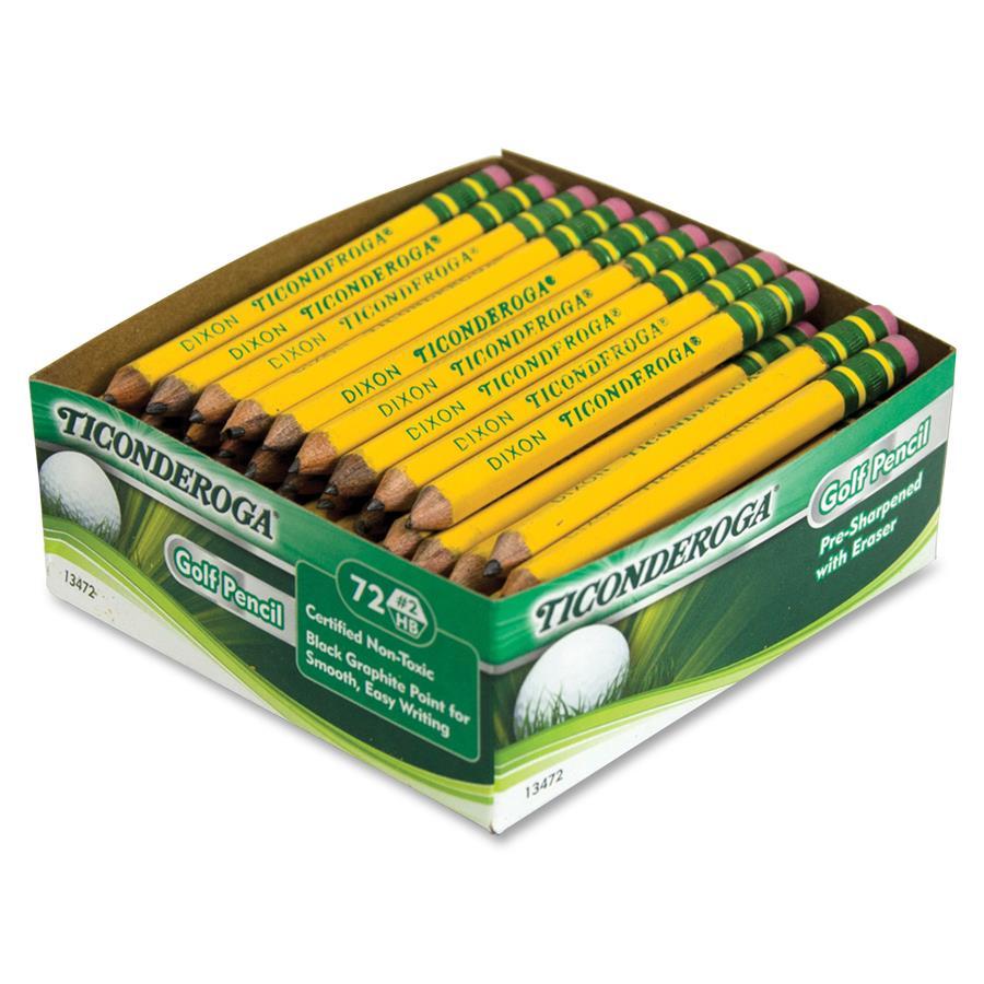 Big Bargains: Ticonderoga Golf Pencils at Discount Pricing