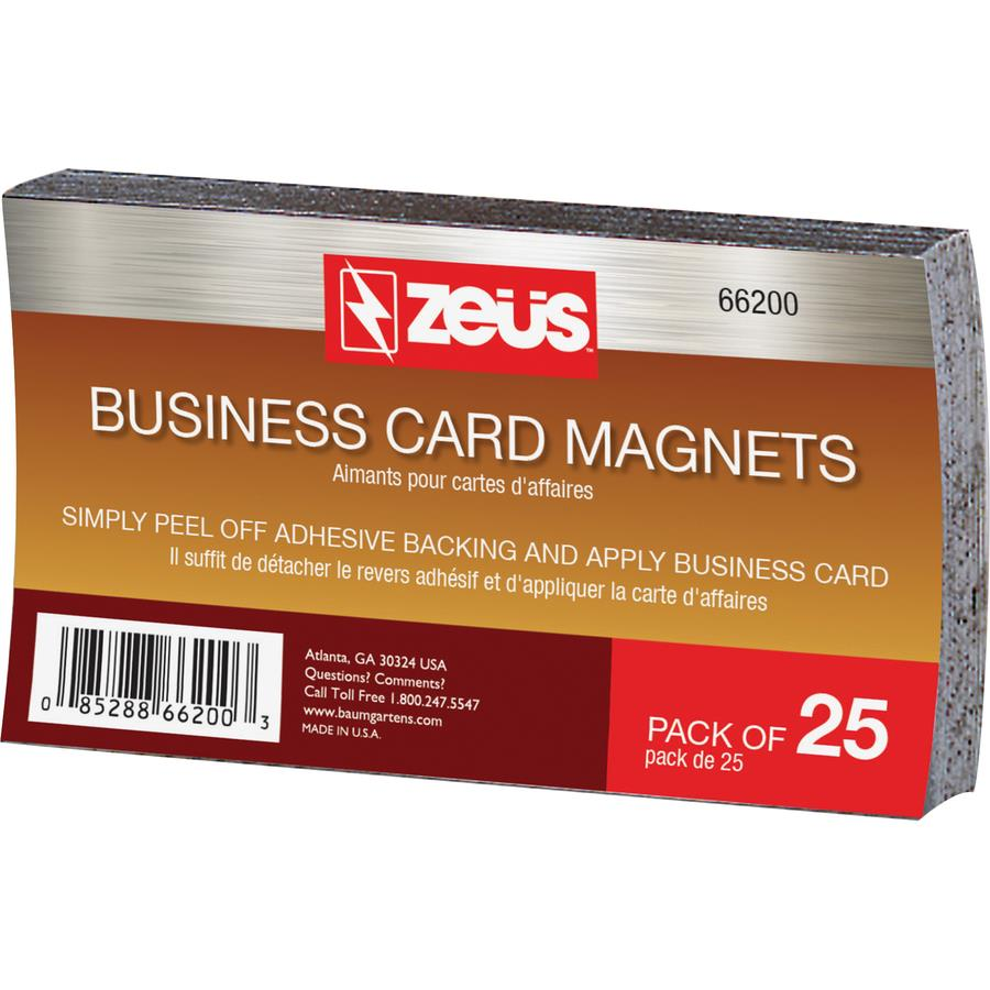 Zeus Magnetic Business Card