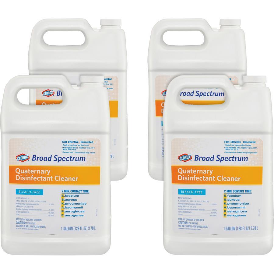 Clorox Healthcare Broad Spectrum Quaternary Disinfect Cleaner
