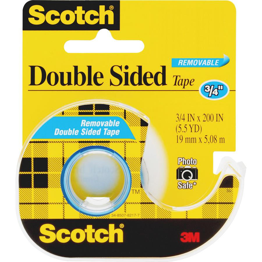 scotch double sided photo safe tape zerbee. Black Bedroom Furniture Sets. Home Design Ideas