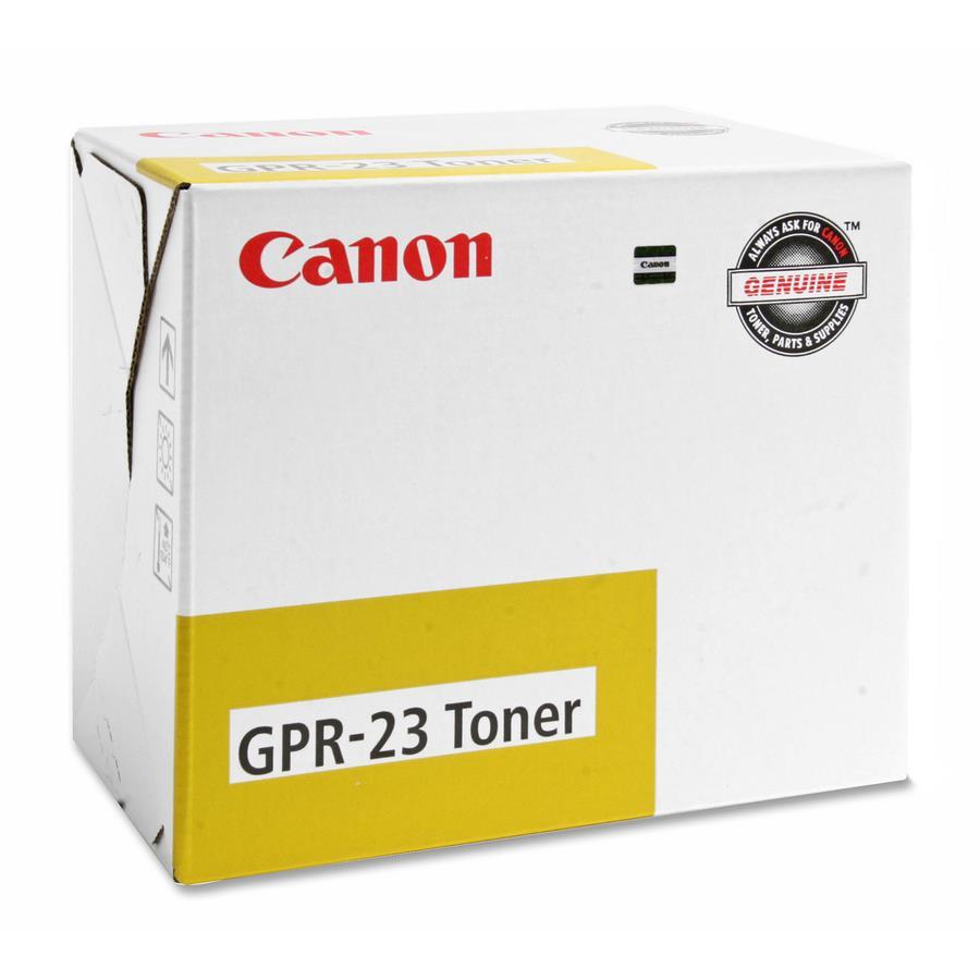 Canon GPR-23 Original Toner Cartridge - Yellow - Zerbee