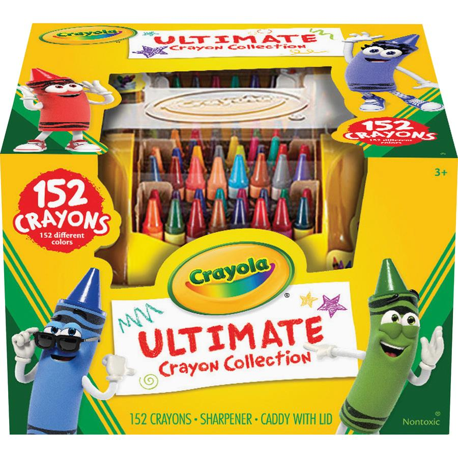 Bulk School Supplies Crayola Ultimate 152 Crayon