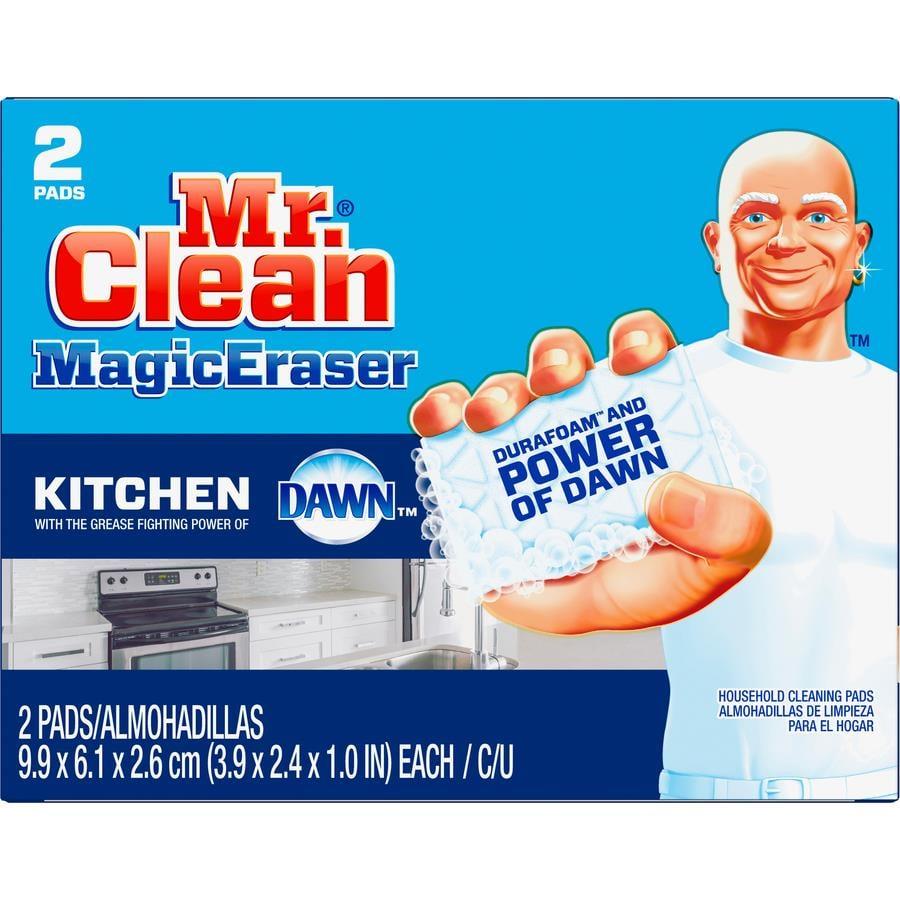 Mr Clean Procter Amp Gamble Magic Eraser Kitchen Scrubber