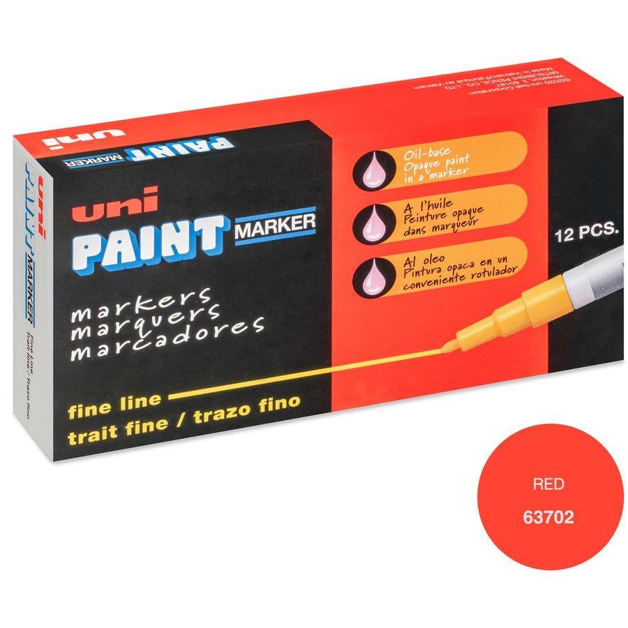 Uni-Ball Oil-Base Fine Line uni Paint Markers - Zerbee