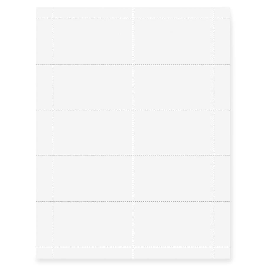 Geographics Inkjet, Laser Print Business Card