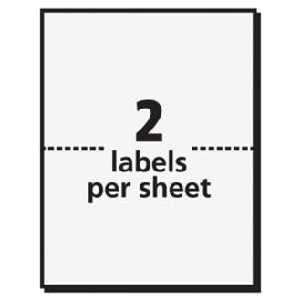 avery adhesive name badge labels