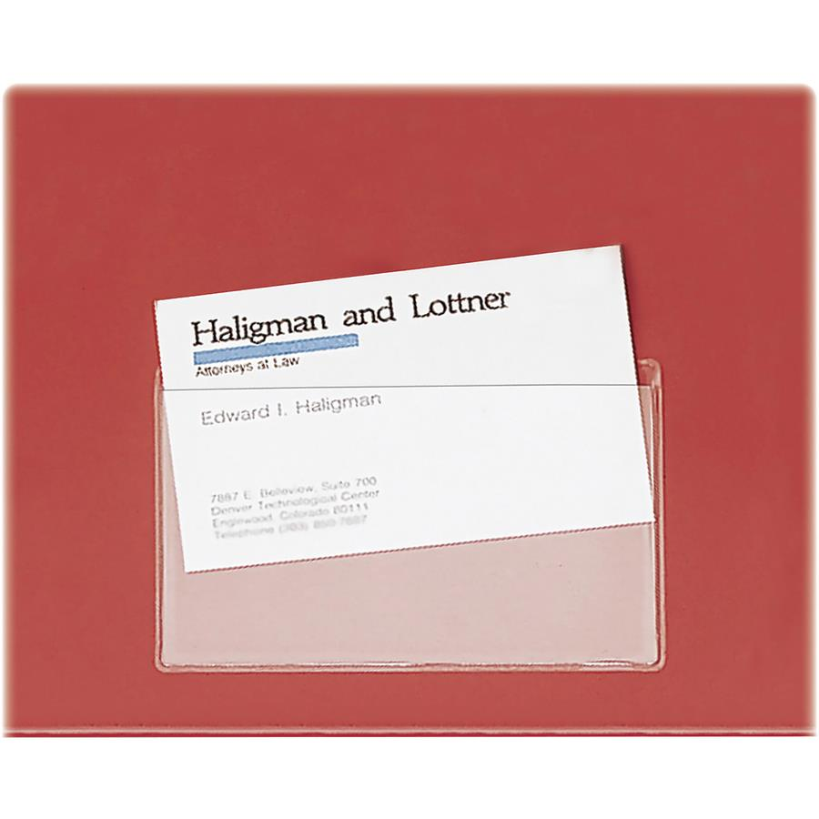 Cardinal Holdit Business Card Pockets