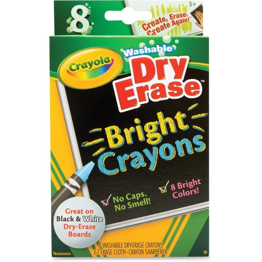 bulk school supplies crayola odorless dry erase crayons cyo985202