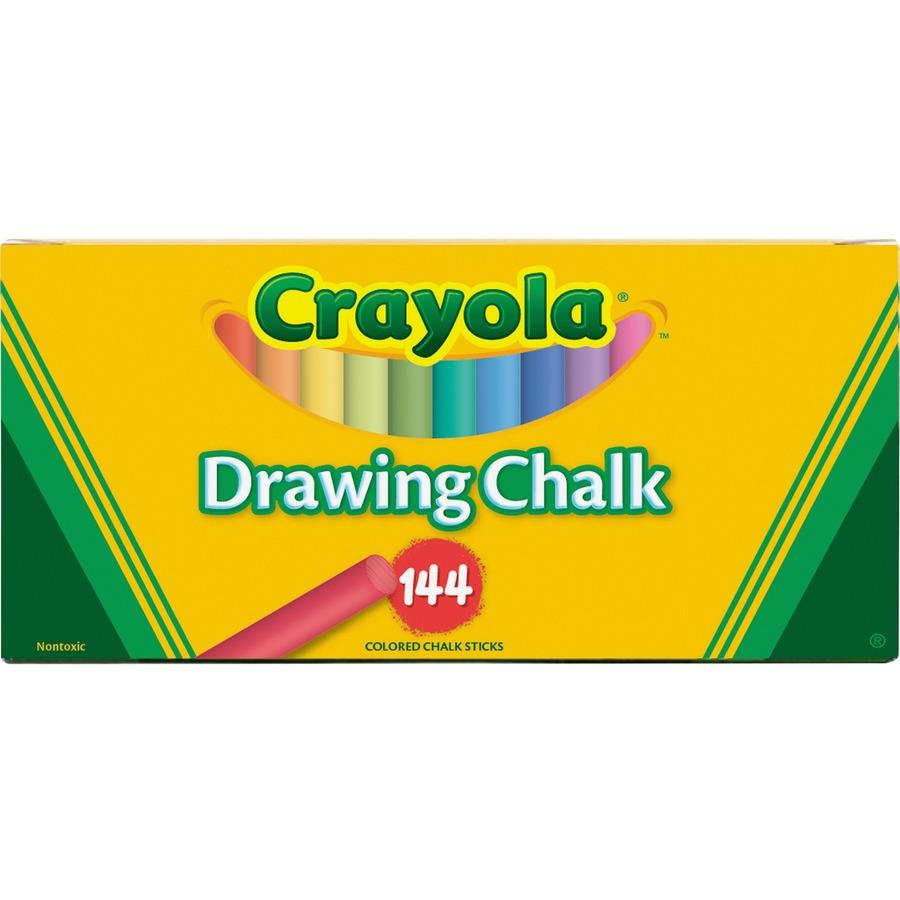 Buy Discount | Crayola Colored Drawing Chalk