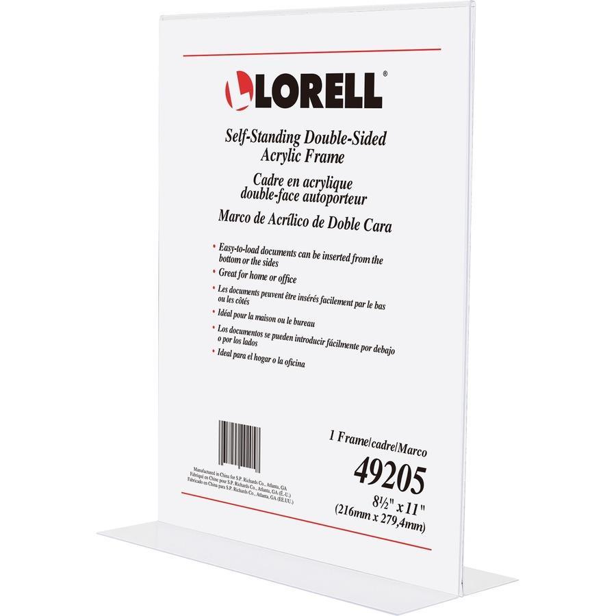 Lorell Double Sided Acrylic Frame