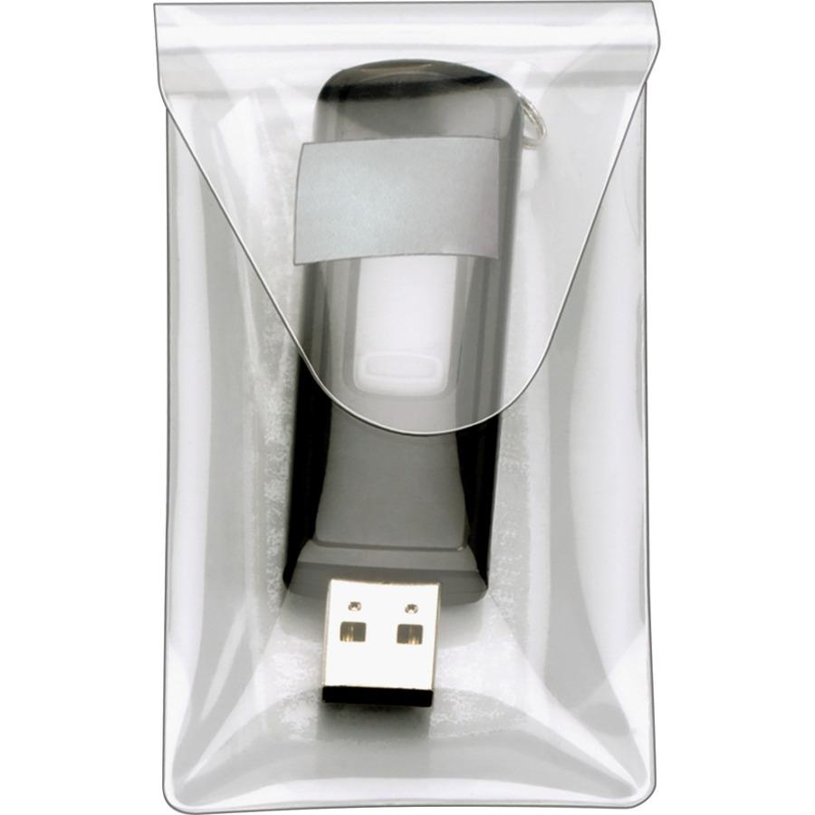 ba406374637 Cardinal Holdit! Clear USB Poly Pocket CRD21140