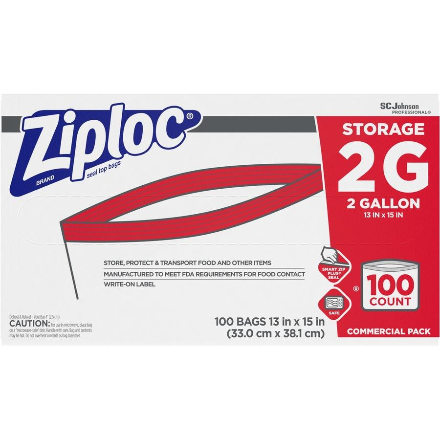 Ziplocu0026reg; Brand 2-Gallon Storage Bags SJN682253  sc 1 st  Bulk Office Supply & Wholesale Ziploc 2-Gallon Storage Bags SJN682253 in Bulk