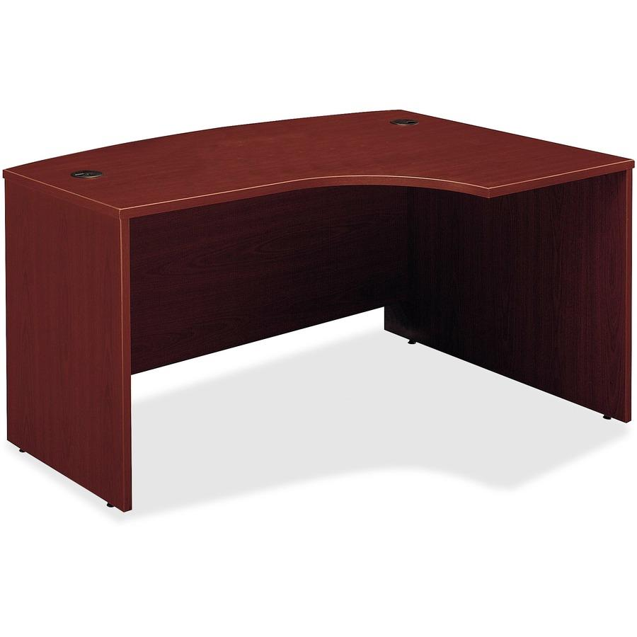 Bush Business Furniture Series C 60W x 43D Right Hand L-Bow Desk Shell -  58 9
