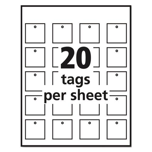 graphic about Avery Printable Tags With Strings named Avery® Printable Tags with Strings