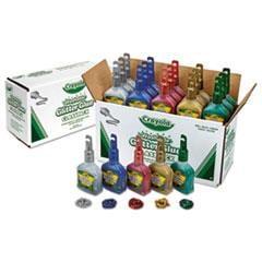 Cyo690020 Crayola Washable Glitter Glue Classpack Zuma