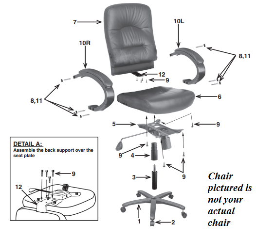 lorell ergomesh series managerial mid back chair tierney office