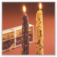 "Harvest Corn Taper Candle - 7/8"" x  12""  (Sold as a Boxed Pair) tag-ta710973"