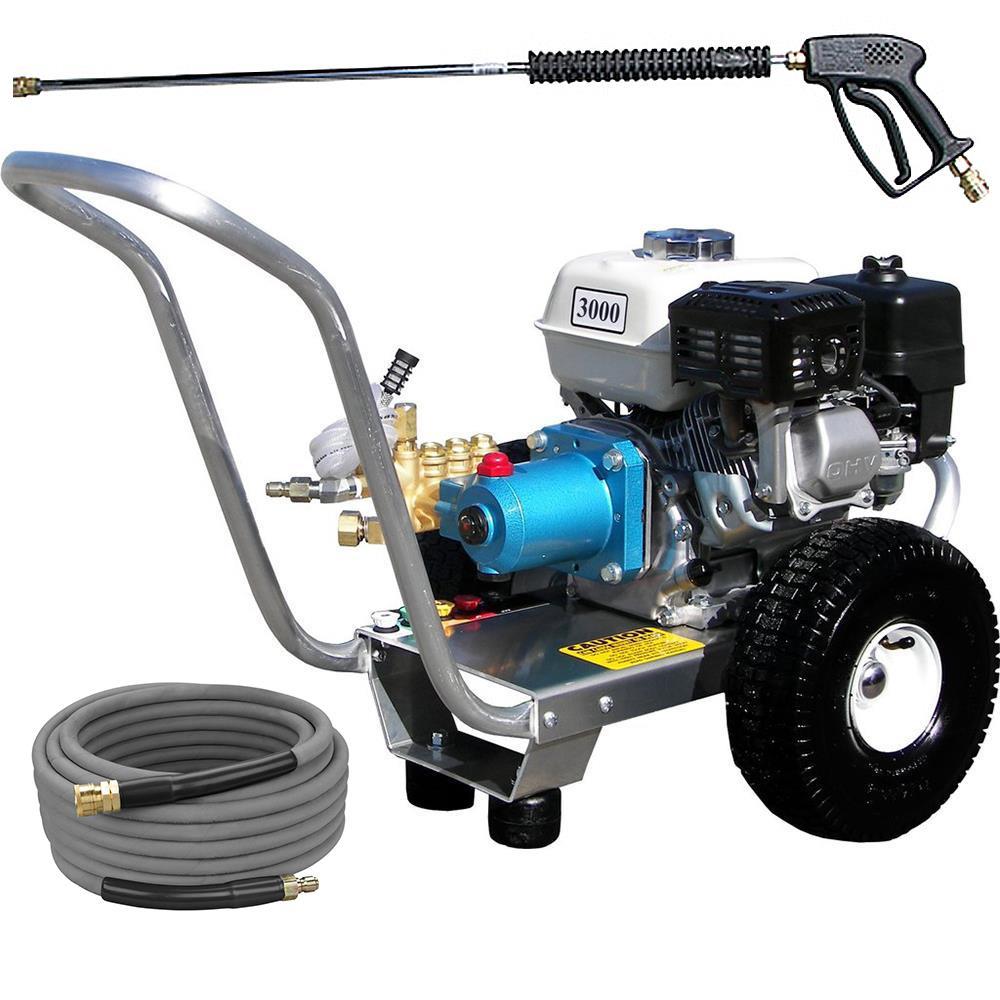 Pressure Pro E3030HCI Pressure Washer - Direct Drive, Gas, 3GPM, 3000 PSI