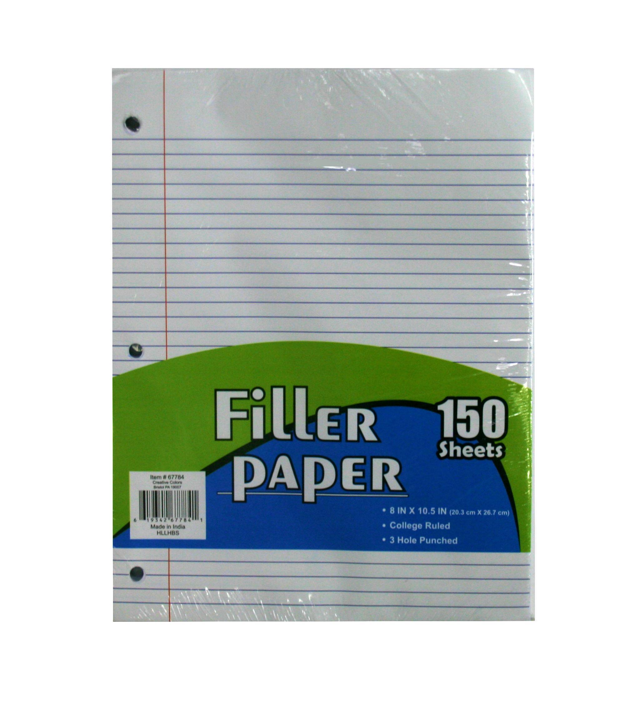Buy college ruled paper in bulk