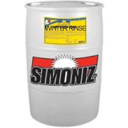 SIMONIZ WINTER RINSE SALT FLOOR STRIPPER NEUTRALIZER GAL DRUM - Floor stripping neutralizer
