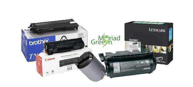 Black Printer Ink Cartridges & Laser Toner