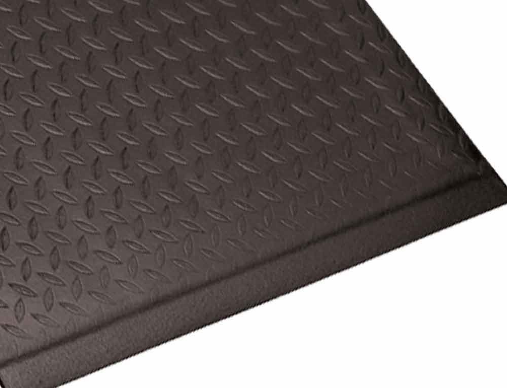 Guardian Soft Step Anti-fatigue Black Vinyl Floor Mat