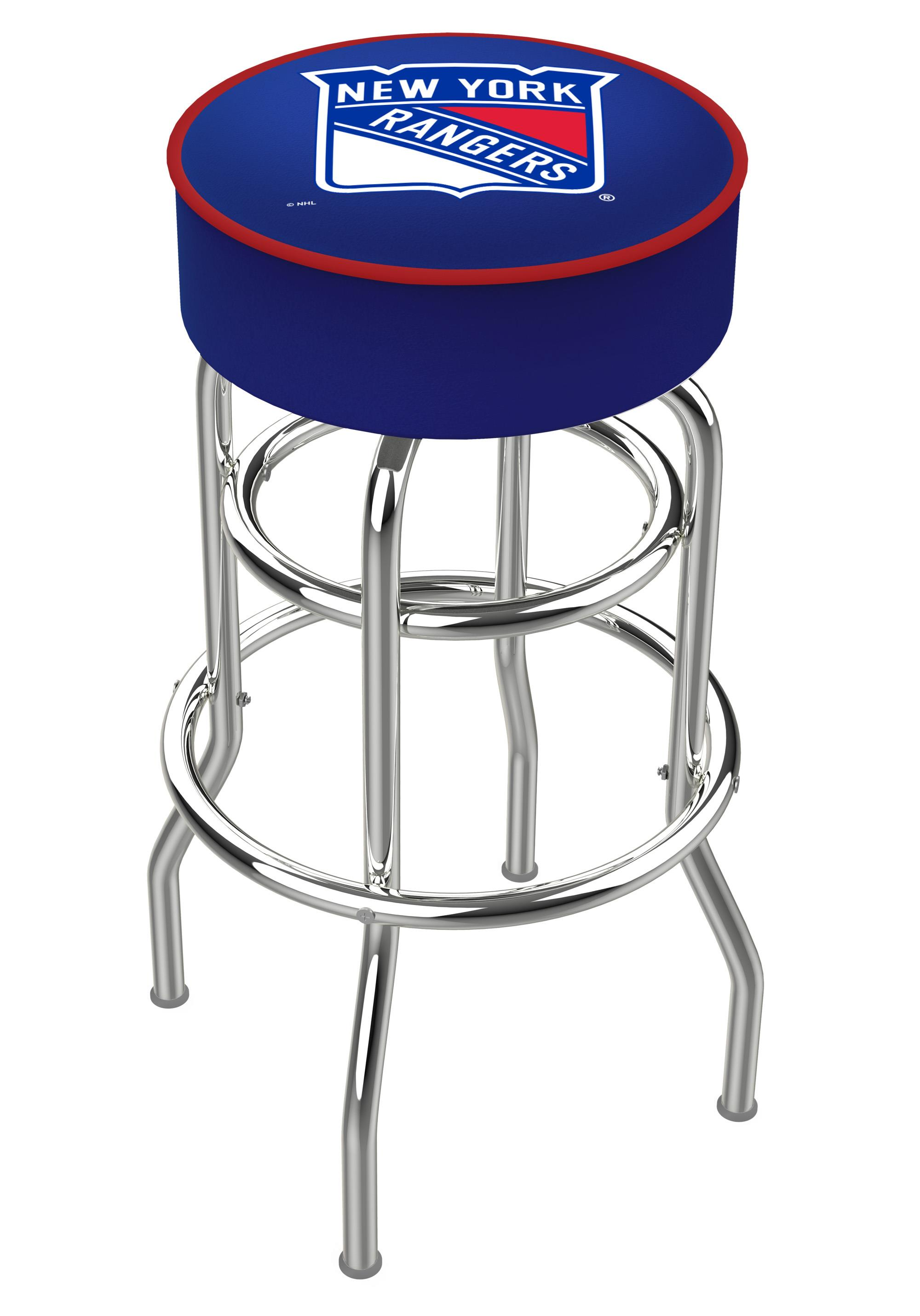 25 Quot L7c1 4 Quot New York Rangers Cushion Seat With Double
