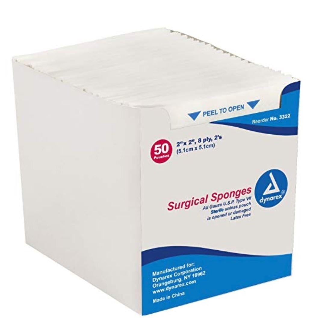 Surgical Gauze Sponge, 2