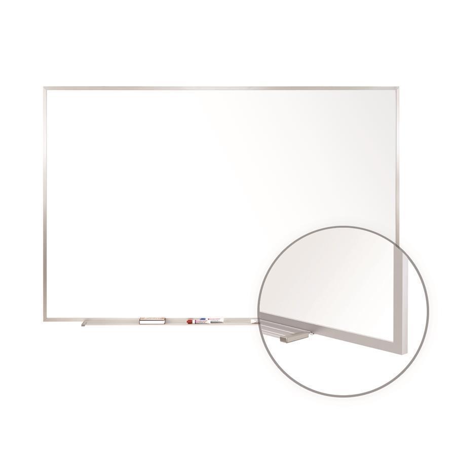 485 X 725 Alum Frame Painted Steel Magnetic Whiteboard 1 Marker 1 Eraser