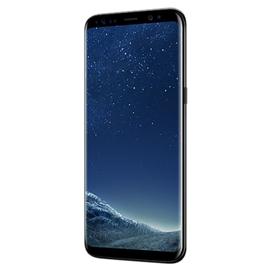 Samsung Galaxy S8 G950F Cell Phone, Midnight Black, PSN100981