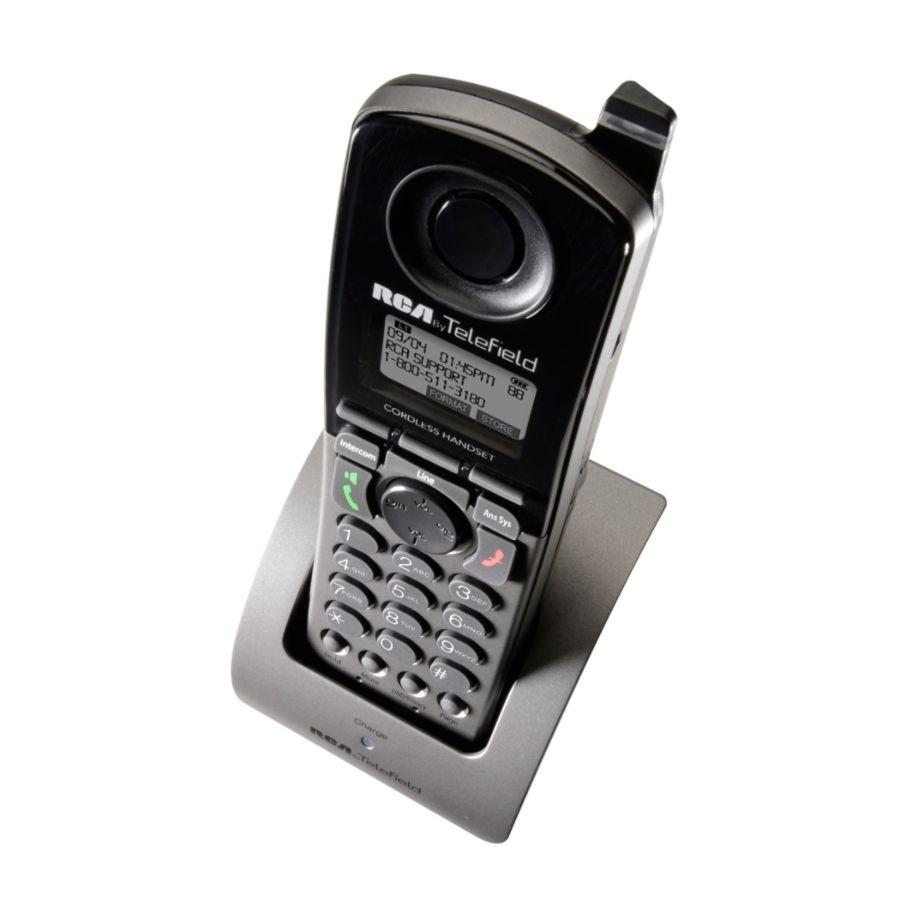 RCA Unison 4-Line DECT 6 0 Cordless Handset For Unison Expandable Phone  Systems, U1200