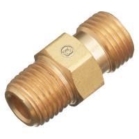brazing torch fittings 2 ea-Brass hose splice-3//8 ID hose Western#47 S-366